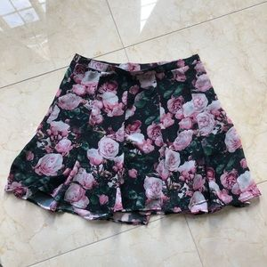 Show Me Your Mumu Rose Flowy Skirt Size Medium